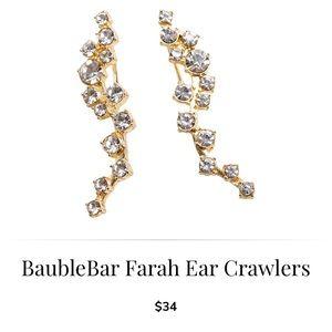 BaubleBar Jewelry - NWT Baublebar ear crawlers